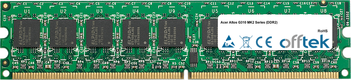 Altos G310 MK2 Serie (DDR2) 1GB Modulo - 240 Pin 1.8v DDR2 PC2-4200 ECC Dimm (Dual Rank)