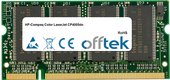 Color LaserJet CP4005dn 512MB Modulo - 200 Pin 2.5v DDR PC333 SoDimm