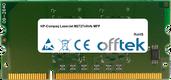 LaserJet M2727nf/nfs MFP 256MB Modulo - 144 Pin 1.8v DDR2 PC2-3200 SoDimm