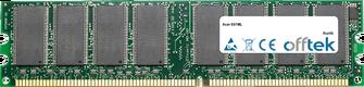 E61ML 1GB Modulo - 184 Pin 2.5v DDR333 Non-ECC Dimm