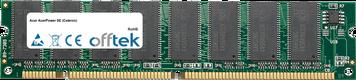 AcerPower SE (Celeron) 128MB Modulo - 168 Pin 3.3v PC100 SDRAM Dimm