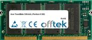 TravelMate 330t-AAL (Pentium II 300) 128MB Modulo - 144 Pin 3.3v PC66 SDRAM SoDimm