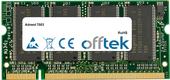 7003 1GB Modulo - 200 Pin 2.5v DDR PC333 SoDimm