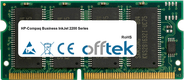 Business InkJet 2200 Serie 64MB Modulo - 144 Pin 3.3v PC100 SDRAM SoDimm