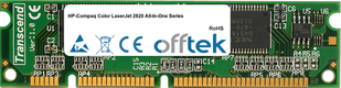 Color LaserJet 2820 All-In-One Serie 128MB Modulo - 100 Pin 3.3v SDRAM PC133 SoDimm