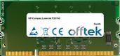 LaserJet P2015d 256MB Modulo - 144 Pin 1.8v DDR2 PC2-3200 SoDimm