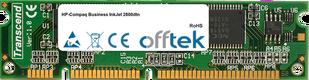 Business InkJet 2800dtn 256MB Modulo - 100 Pin 3.3v SDRAM PC100 SoDimm