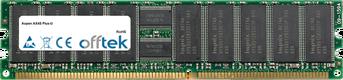 AX4S Più-U 1GB Modulo - 184 Pin 2.5v DDR266 ECC Registered Dimm (Single Rank)