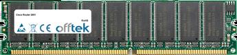 Router 2851 512MB Modulo - 184 Pin 2.5v DDR266 ECC Dimm