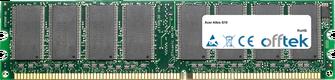 Altos G10 1GB Modulo - 184 Pin 2.6v DDR400 Non-ECC Dimm