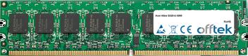 Altos G320-U-3000 2GB Modulo - 240 Pin 1.8v DDR2 PC2-4200 ECC Dimm (Dual Rank)