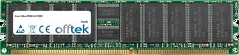 Altos R300-U-C2000 1GB Modulo - 184 Pin 2.5v DDR266 ECC Registered Dimm (Single Rank)