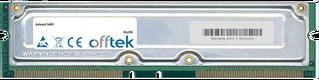 3405 1GB Kit (2x512MB Moduli) - 184 Pin 2.5v 800Mhz Non-ECC RDRAM Rimm