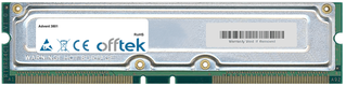 3801 1GB Kit (2x512MB Moduli) - 184 Pin 2.5v 800Mhz Non-ECC RDRAM Rimm