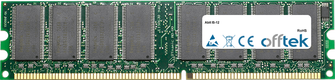 IS-12 1GB Modulo - 184 Pin 2.5v DDR333 Non-ECC Dimm