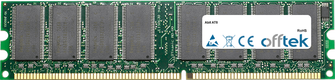 AT8 1GB Modulo - 184 Pin 2.6v DDR400 Non-ECC Dimm