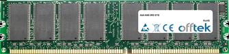 AN8-3RD EYE 1GB Modulo - 184 Pin 2.6v DDR400 Non-ECC Dimm