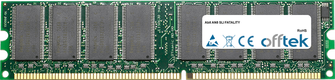 AN8 SLI FATALITY 1GB Modulo - 184 Pin 2.6v DDR400 Non-ECC Dimm