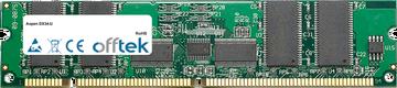 DX34-U 1GB Modulo - 168 Pin 3.3v PC133 ECC Registered SDRAM Dimm