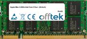 IMac 2.4GHz Intel Core 2 Duo - (24-Inch) 2GB Modulo - 200 Pin 1.8v DDR2 PC2-5300 SoDimm