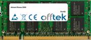 Roma 2000 2GB Modulo - 200 Pin 1.8v DDR2 PC2-5300 SoDimm