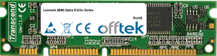 Optra E323n Serie 64MB Modulo - 100 Pin 3.3v SDRAM PC133 SoDimm
