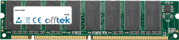 3401 256MB Modulo - 168 Pin 3.3v PC100 SDRAM Dimm