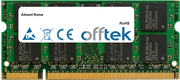 Roma 2GB Modulo - 200 Pin 1.8v DDR2 PC2-6400 SoDimm