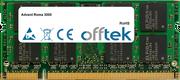 Roma 3000 2GB Modulo - 200 Pin 1.8v DDR2 PC2-6400 SoDimm