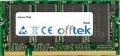 7046 1GB Modulo - 200 Pin 2.5v DDR PC266 SoDimm
