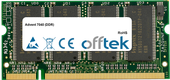 7040 (DDR) 512MB Modulo - 200 Pin 2.5v DDR PC333 SoDimm