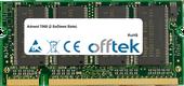 7060 (2 SoDimm Slots) 1GB Modulo - 200 Pin 2.5v DDR PC333 SoDimm