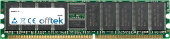 KD7-G 1GB Modulo - 184 Pin 2.5v DDR266 ECC Registered Dimm (Dual Rank)