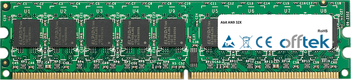 AN9 32X 2GB Modulo - 240 Pin 1.8v DDR2 PC2-5300 ECC Dimm (Dual Rank)