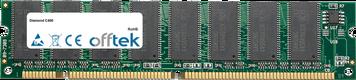 C400 256MB Modulo - 168 Pin 3.3v PC133 SDRAM Dimm