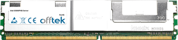 S5000PHB Server 8GB Kit (2x4GB Moduli) - 240 Pin 1.8v DDR2 PC2-5300 ECC FB Dimm