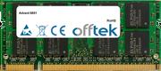 6651 2GB Modulo - 200 Pin 1.8v DDR2 PC2-6400 SoDimm