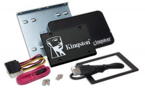Kingston KC600 2.5-inch SSD Upgrade Kit 256GB Drive