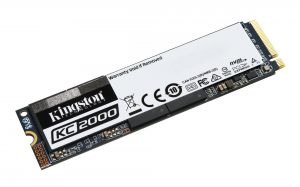 Kingston KC2000 M.2 NVMe SSD 500GB Drive