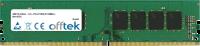 288 Pin Dimm - DDR4 - PC4-17000 (2133Mhz) - Non-ECC 4GB Modulo
