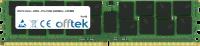 288 Pin Dimm - DDR4 - PC4-19200 (2400Mhz) - LRDIMM 128GB Modulo
