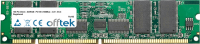 168 Pin Dimm - SDRAM - PC100 (100Mhz) - 3.3V - ECC Registrato 1GB Modulo