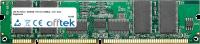 168 Pin Dimm - SDRAM - PC133 (133Mhz) - 3.3V - ECC Registrato 256MB Modulo