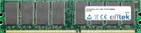184 Pin Dimm - 2.5V - DDR - PC2100 (266Mhz) - Non-ECC 128MB Modulo