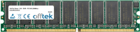 184 Pin Dimm - 2.5V - DDR - PC2100 (266Mhz) - Senza Buffer ECC 256MB Modulo