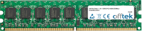 240 Pin Dimm - 1.8v - DDR2 PC2-4200 (533Mhz) -   Senza Buffer ECC 512MB Modulo