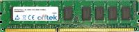 240 Pin Dimm - 1.5v - DDR3 - PC3-10600 (1333Mhz) - Senza Buffer ECC  2GB Modulo