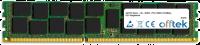 240 Pin Dimm - 1.5v - DDR3 - PC3-10600 (1333Mhz) - ECC Registrato 4GB Modulo