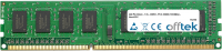 240 Pin Dimm - 1.5v - DDR3 - PC3-10600 (1333Mhz) - Non-ECC 4GB Modulo