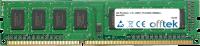 240 Pin Dimm - 1.5v - DDR3 - PC3-8500 (1066Mhz) - Non-ECC 4GB Modulo